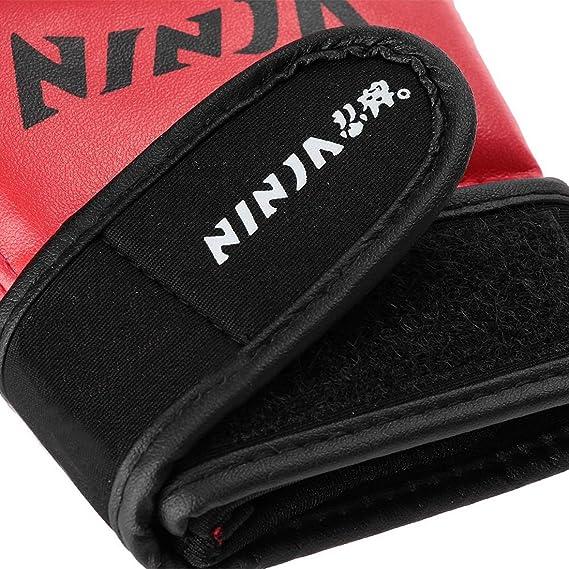 Joylive par medio dedo guantes para boxeo Enfrentamientos ...