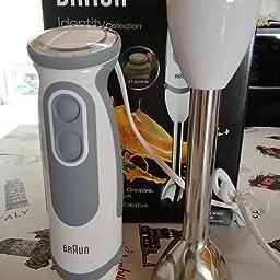 Braun Minipimer 5 MQ5035 Sauce - Batidora de mano, 750 w potencia ...