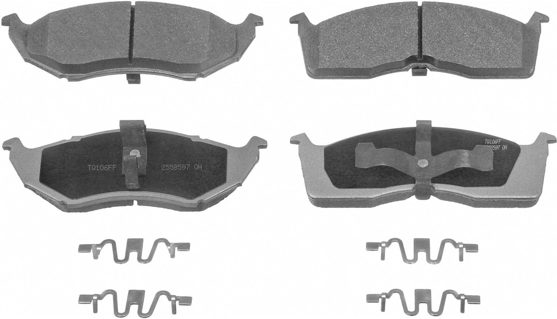 Disc Brake Pad Set-ThermoQuiet Disc Brake Pad Front Wagner QC1273