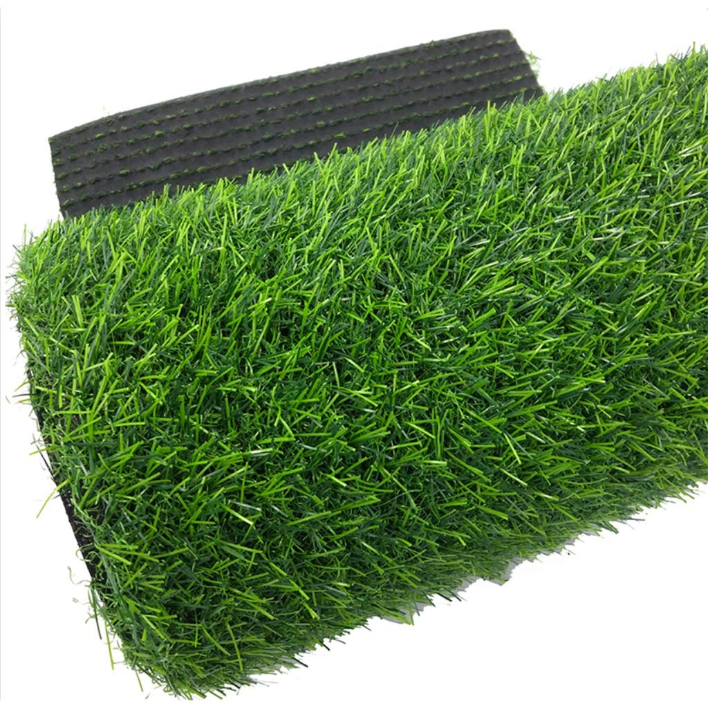 YNFNGXU シミュレーション芝生20ミリメートルパイル高暗号化グリーン人工芝テラスガーデン装飾2×1メートル (色 : 緑, サイズ さいず : 1x15m) B07S3W6JF5 緑 1x15m