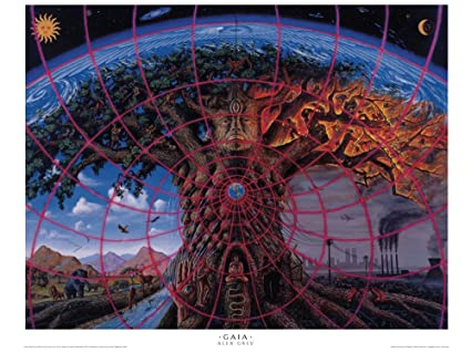 Alex Grey - Gaia - Poster