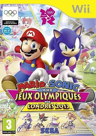 Mario Sonic Aux Jeux Olympiques De Londres 2012 Nintendo