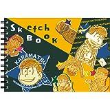 ヒサゴ おそ松さん 図案スケッチブック B6サイズ/カラ松 HG6972