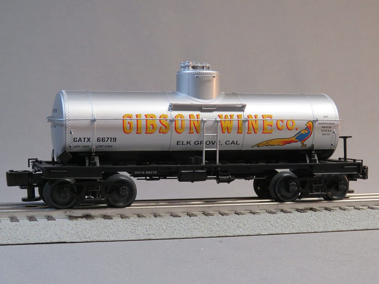 LIONEL GIBSON WINE 30283.3l TANK CAR 66719 o gauge B07FTS7JPT