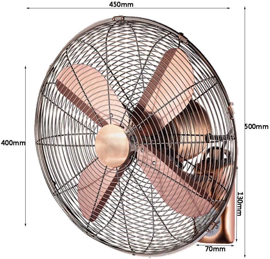 Commerciale//Interno//Esterno Koovin Ventilatore a Muro Industriale-Ventilatore a Parete oscillante ad Alta velocit/à Ventilatore a Parete//inclinazione Regolabile
