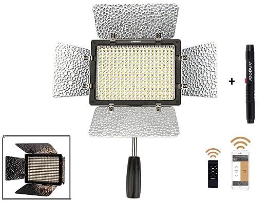 28 opinioni per YONGNUO YN-300 III Camera LED Light Videocamera Temperatura regolabile