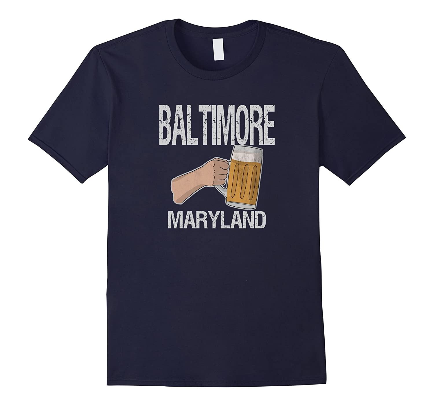Baltimore Maryland Pride Beer T-Shirt-ANZ