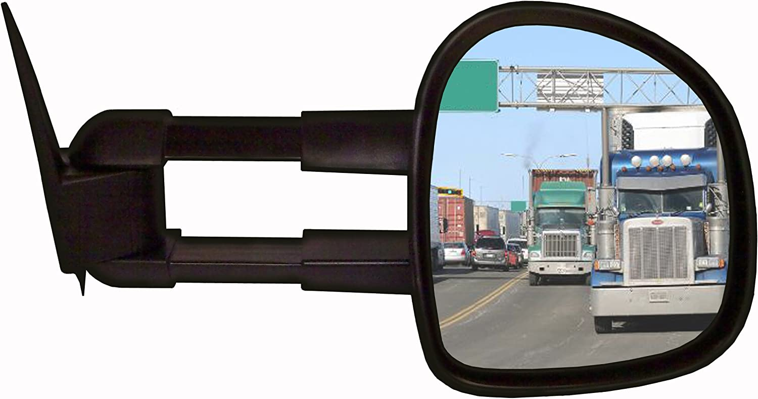 CIPA 70610 Extendable Replacement Electric Heated Towing Mirror fits 1999-2002 Silverado and Sierra Pickup Right Hand Side