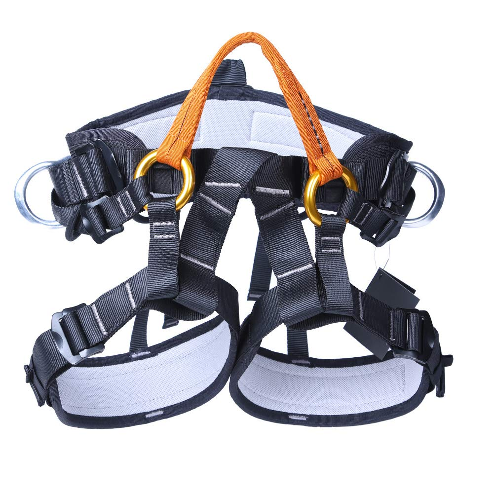 Outdoor Rock Climbing Harness Half-Length Rescue seat Belt Rappelling high-Altitude seat Belt by HENRYY (Image #3)