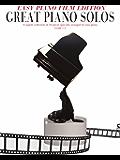 Great Piano Solos: The Film Book (Easy Piano Edition)
