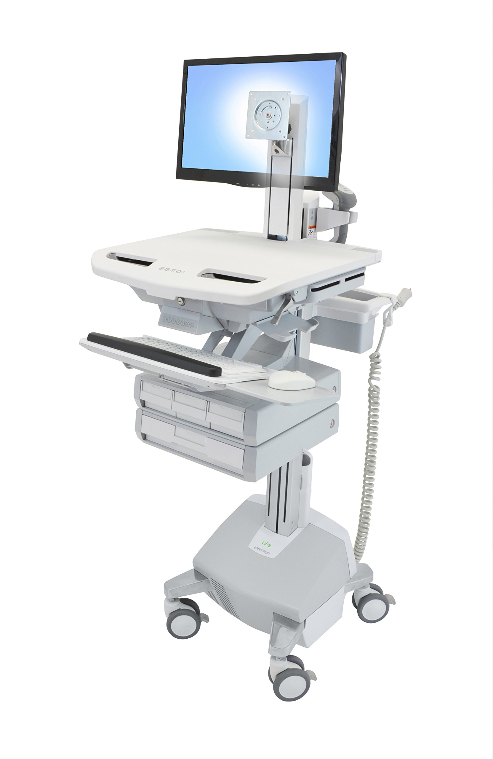 Styleview Cart With Lcd Pivot,Life Power
