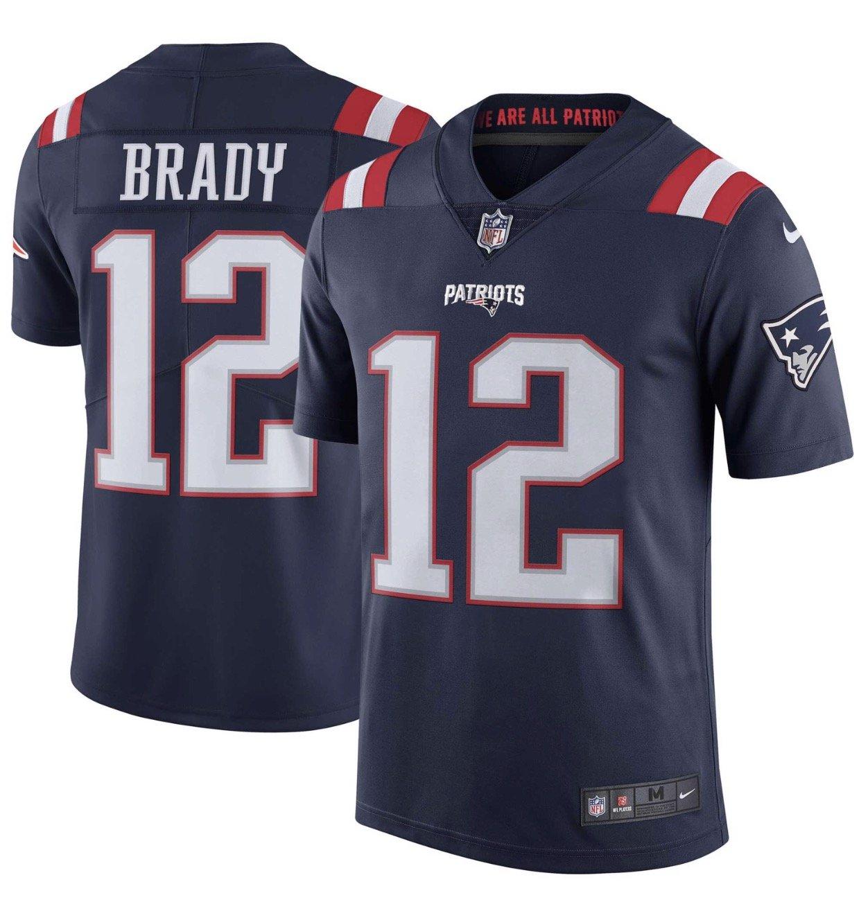 Nike NFL New England Patriots Tom Brady Limited Trikot