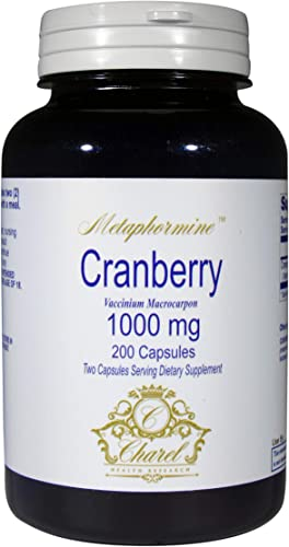 Cranberry Pills 200 Capsules 1000mg