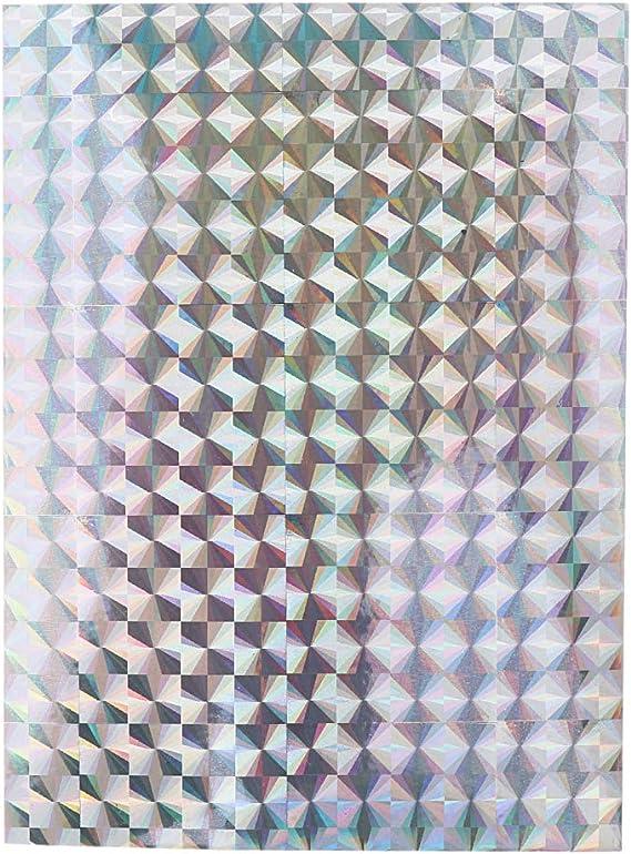 F Fityle 10pcs Leurre Ruban R/éfl/échissant 7,3 x 10 cm