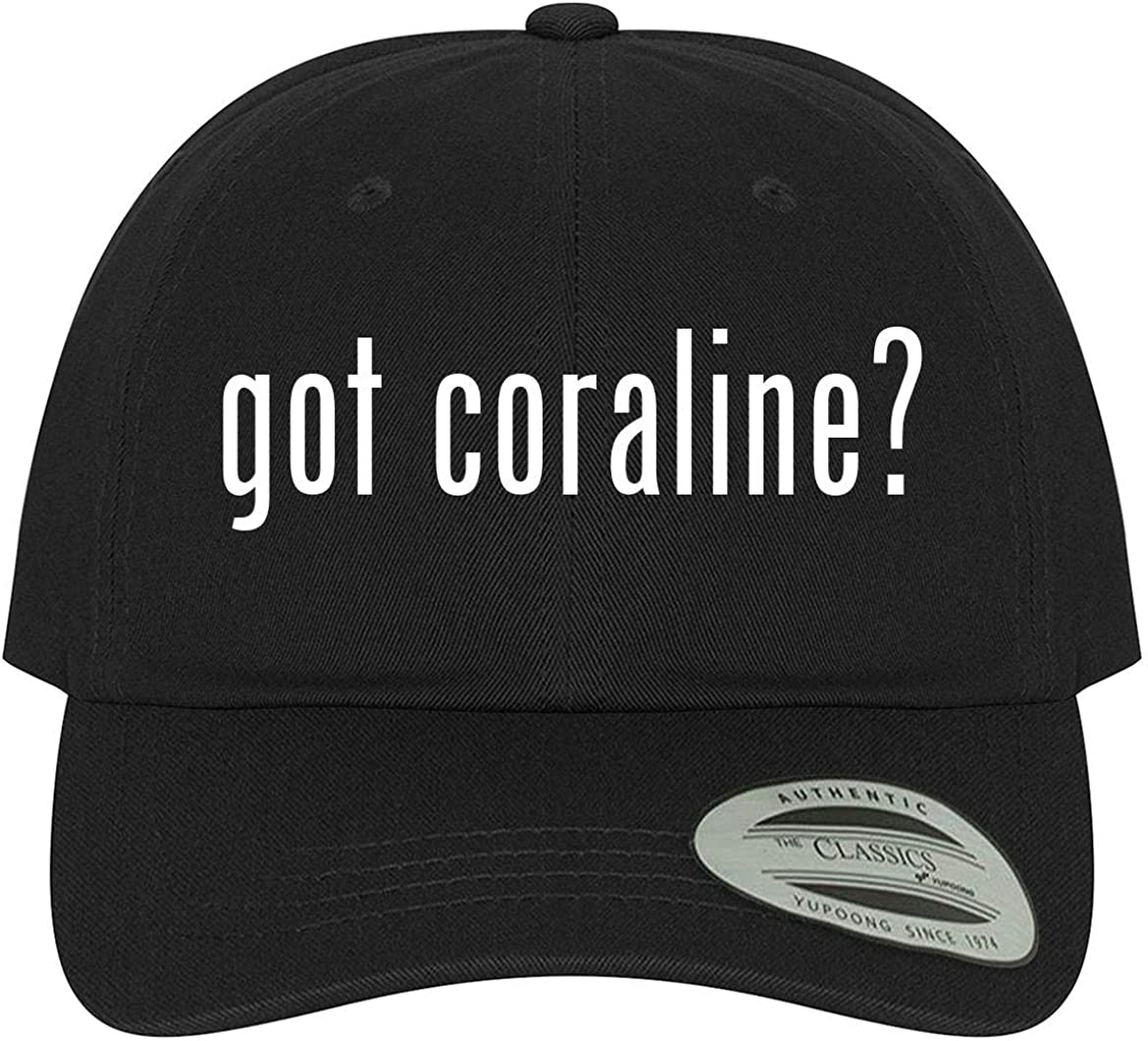 Amazon Com The Town Butler Got Coraline A Comfortable Adjustable Dad Baseball Hat Black One Size Clothing