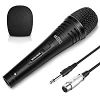 Deals on TONOR Dynamic Karaoke Microphone w/5.0m XLR Cable