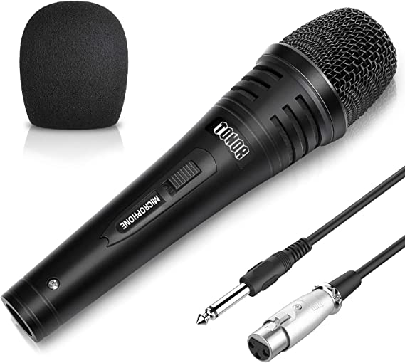 TONOR Dynamic Karaoke Microphone for Singing with 5.0m XLR Cable