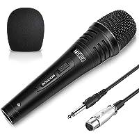 TONOR Micrófono Dinámico Profesional con Cable para DVD/TV/Audio/Reverberador/Mezclador/Autobús