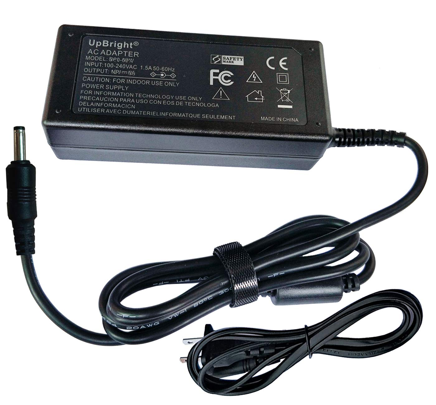 UpBright 18V AC/DC Adapter Compatible with Razer Leviathan RC30-012601 Elite Gaming Music SoundBar RZ05-01260100 RZ05-01260100-R3U1 DYS650-180280W-K DYS650-180280-14704B 18VDC 2.8A - 3.5A Power Cord