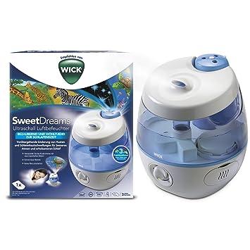 Wick WUL575E SweetDreams 2 in 1 - Ultraschall Luftbefeuchter mit ...