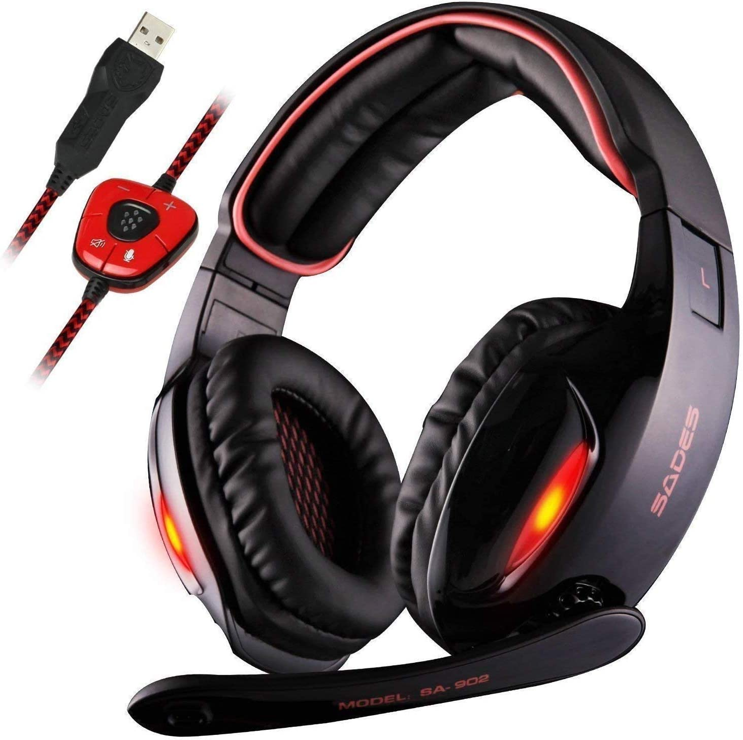 Amazon Promo Code for USB Stereo Surround Sound Gaming Headset with Mic
