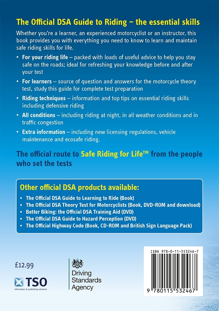 the official dsa guide to riding the essential skills driving rh amazon com dsa guide to riding the essential skills dvsa guide to riding pdf