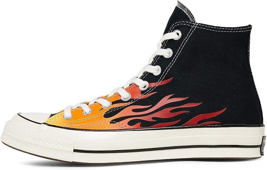 Converse Chuck 70 Archive Print High Top Fire Fuoco Fiamme