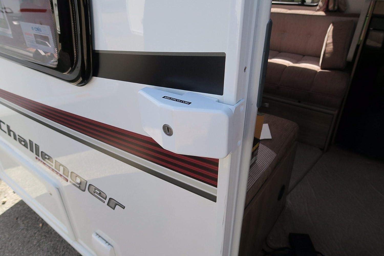 Milenco Door Frame Locks Triple Pack Keyed Alike Caravan Motorhome Garage