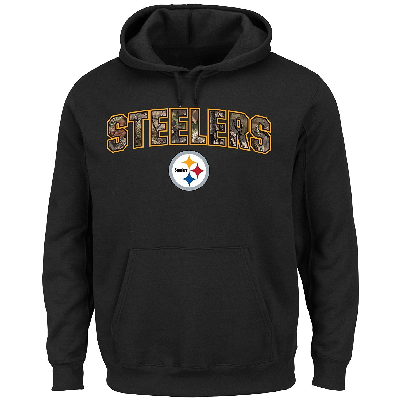32e6188be Amazon.com   Pittsburgh Steelers Men s Majestic NFL
