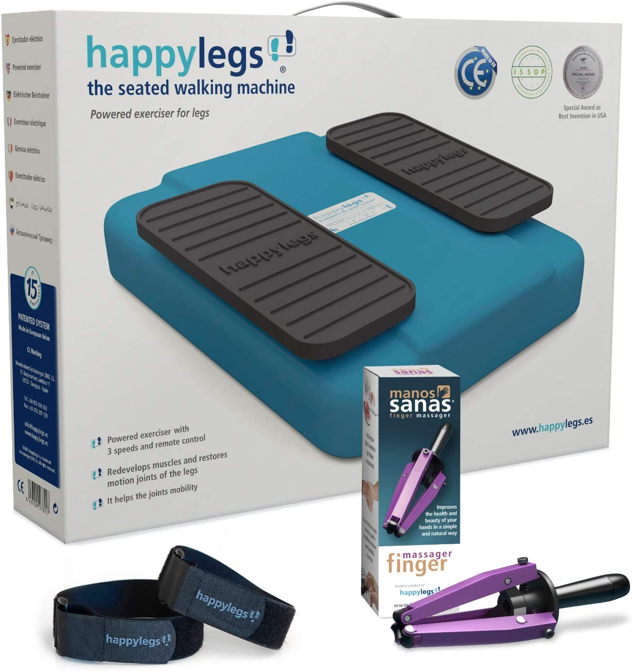 happylegs pack manos correas
