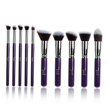 b3ab96c15c47 Amazon.com: Kaputar Pro Kabuki Cosmetic Makeup Brush Set Foundation ...
