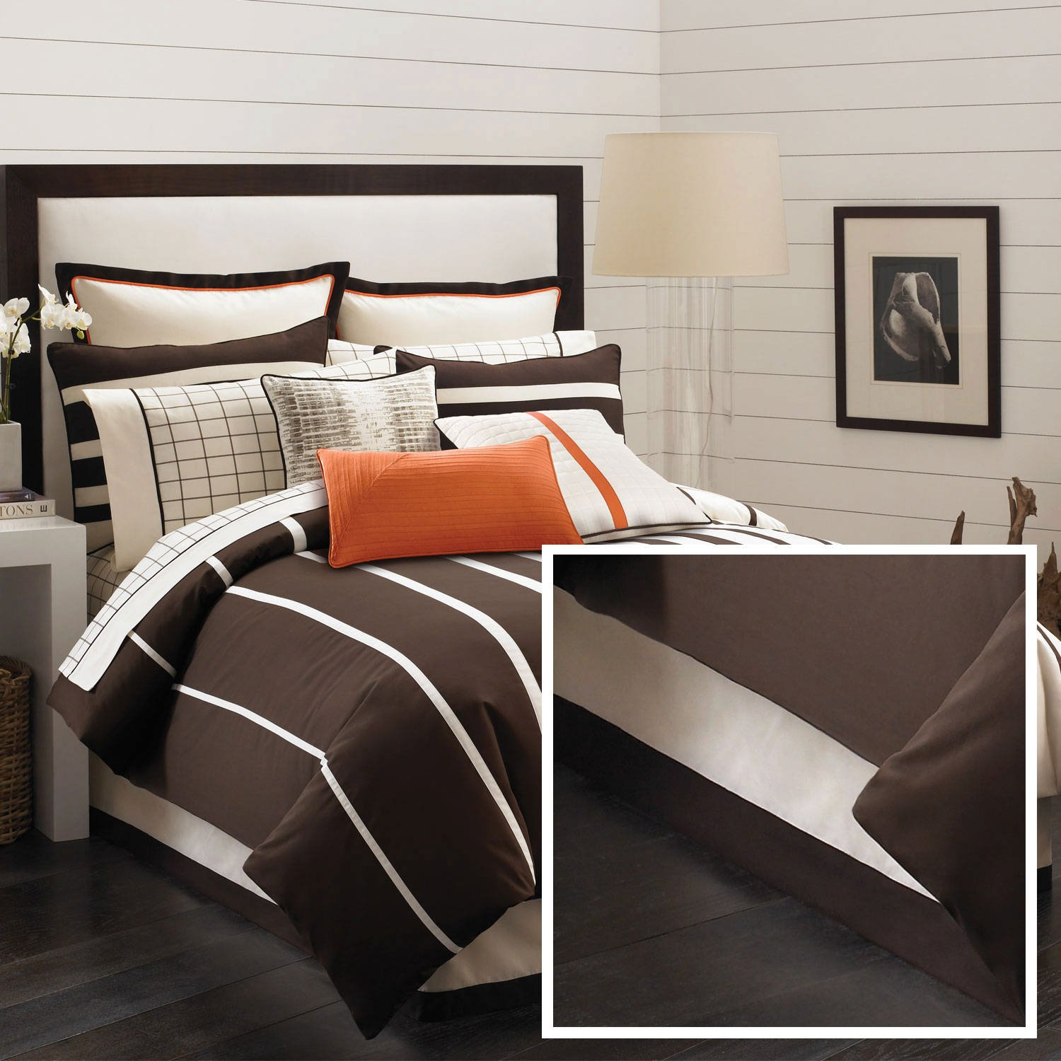 Nautica Beach Wood Bed Skirt IvoryCal King by Nautica (Image #1)