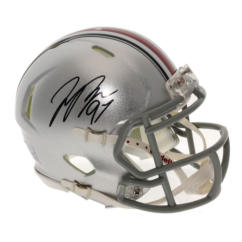 Joey Bosa Autographed Signed Ohio State Buckeyes Speed Mini Helmet - Certified Authentic