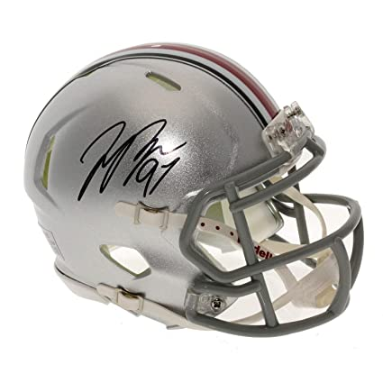 75c5b744b00 Joey Bosa Autographed Signed Ohio State Buckeyes Speed Mini Helmet -  Certified Authentic
