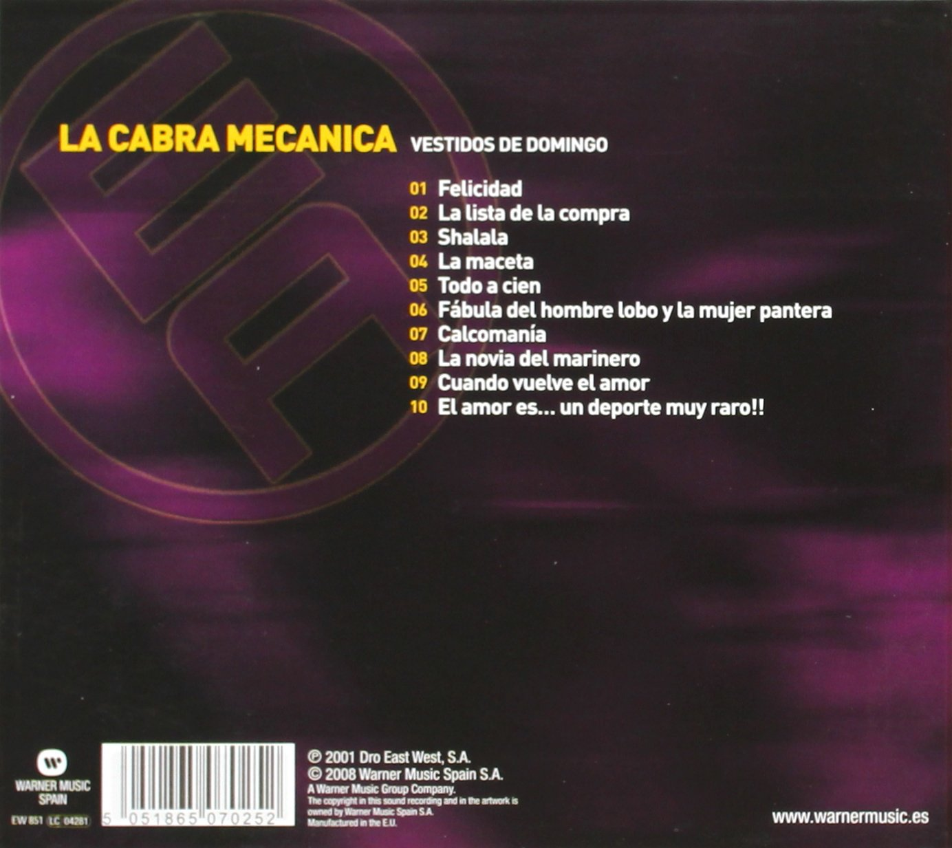 Cabra Mecanica - Essential Albums: Vestidos de Domingo - Amazon.com Music