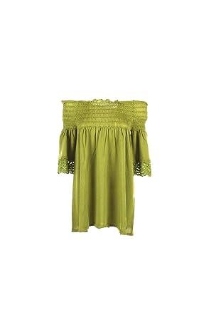 new arrival 3737e e53c9 Maglia Donna Twin-set XS Verde Lime Ts732c Primavera Estate ...