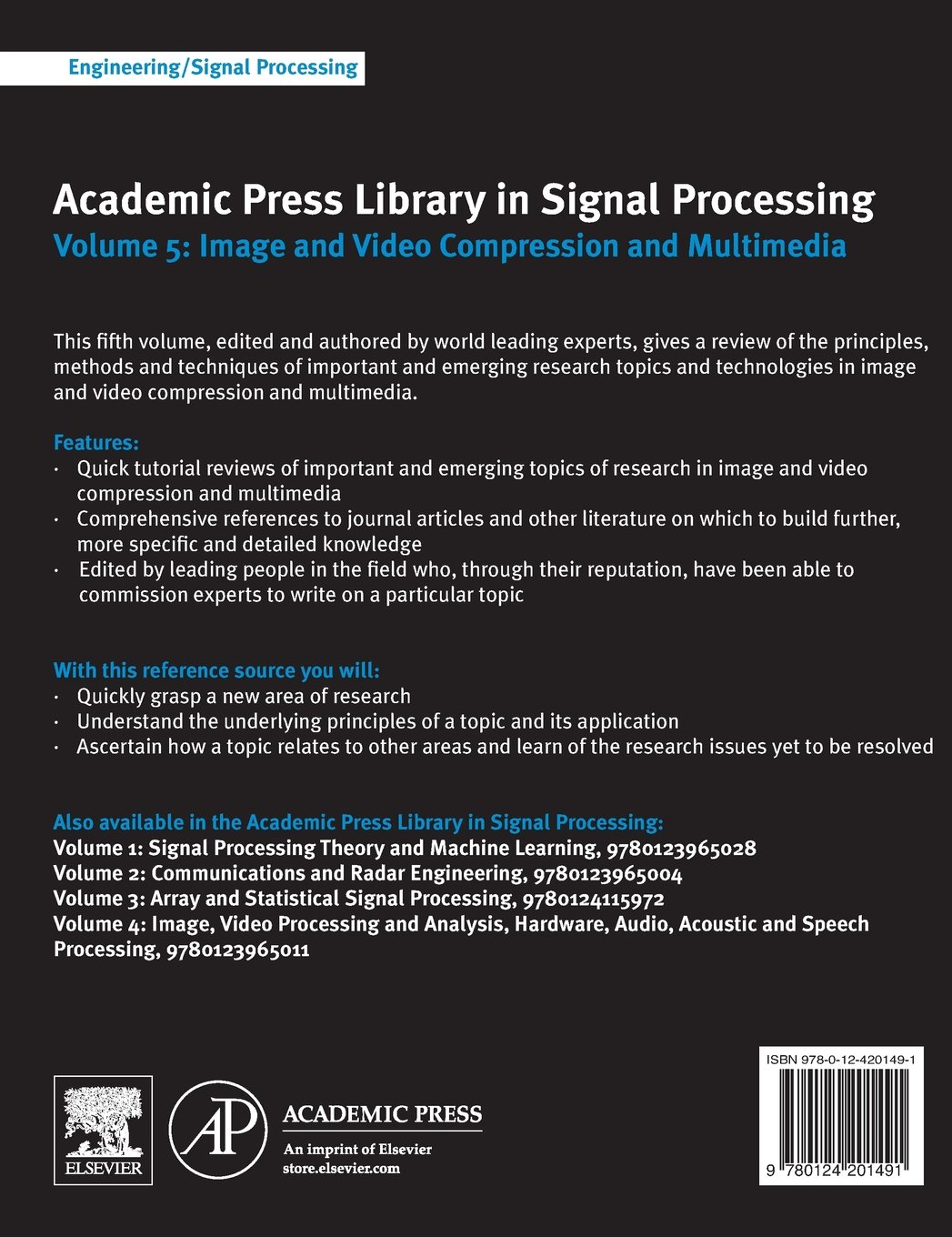 Buy 5 academic press library in signal processing image and buy 5 academic press library in signal processing image and video compression and multimedia book online at low prices in india 5 academic press baditri Gallery