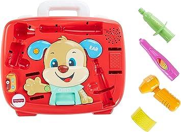 Fisher-Price FTH19 - Kit de chequeo para Cachorros, Juego de rol de médicos para niños Que Hablan, Apto para 18 Meses más: Amazon.es: Juguetes y juegos