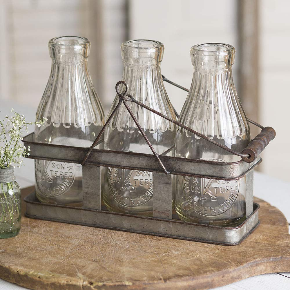CTW Home Collection Three Milk Bottle Carrier