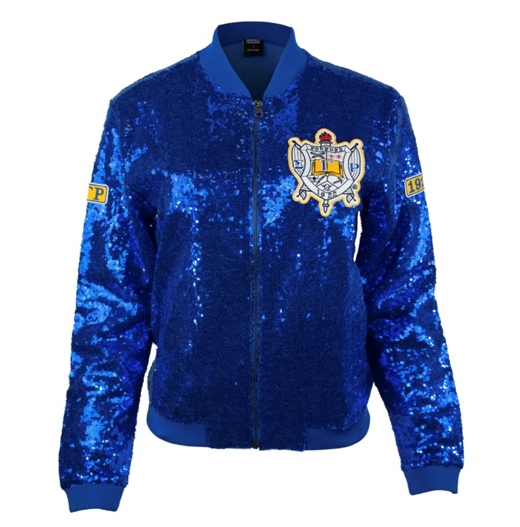 Sigma Gamma Rho Sorority Womens New Sequence Jacket Extra Large Blue