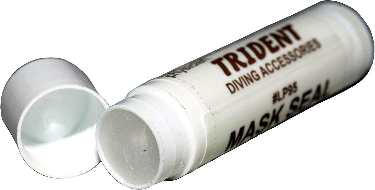 Trident Snorkeling and Scubadiving Mask Sealer and Mustache Wax