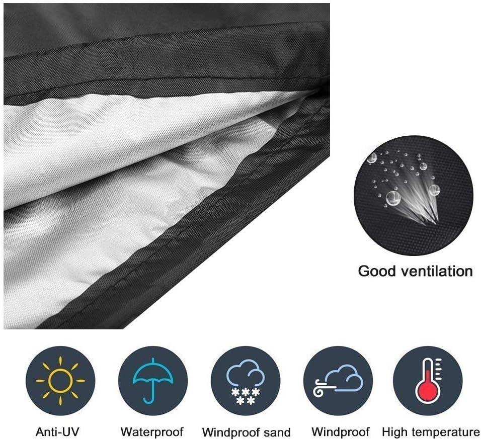 Bigzzia Patio Umbrella Cover,Outdoor Sun Umbrella Cover Waterproof Rainproof dustproof Sunshade 420D Oxford Cloth