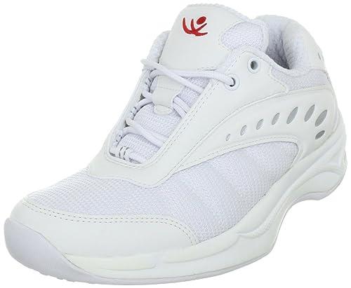 Chung Shi AuBioRiG Balance Step Sport 9100290 - Zapatillas de deporte para andar de tela para mujer, color blanco, talla 40.5: Amazon.es: Zapatos y ...