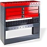 DEMA Kfz Regalsystem/Einbauregal / 3 Schubladen