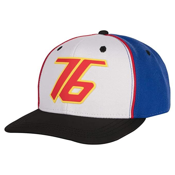 af394961ac2 Image Unavailable. Image not available for. Color  JINX Overwatch Soldier   76 Snapback Baseball Hat ...