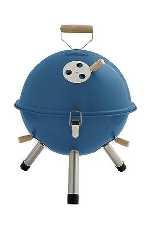 Mini – Parrilla de Bola con Recirculación Efecto práctica Mini Barbacoa Azul