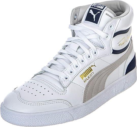 le scarpe puma alte bianche uomo