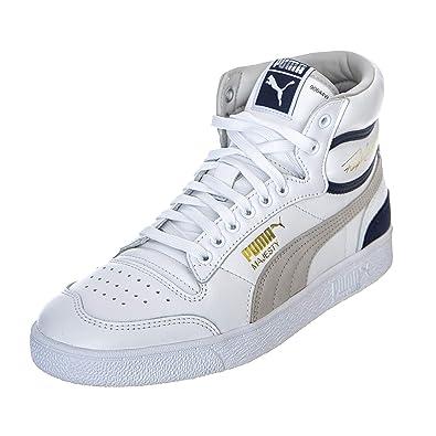 PUMA Ralph Sampson Mid Og BiancoGrigioViola Sneakers