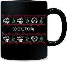 Bolton Name Ugly Christmas Sweater - Mug