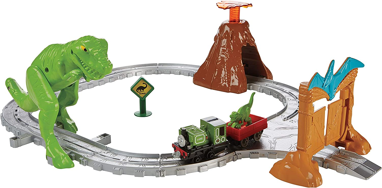 Thomas & Friends- Circuito Parque de Dinosaurios (Mattel FBC67)